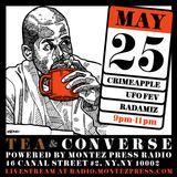 Tea & Converse x Montez Press Radio: CRIMEAPPLE & UFO Fev & Radamiz