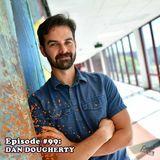 Episode #99: Dan Dougherty - Comic Book Writer/Artist of 'Beardo' and 'Touching Evil', Writer of 'Fl