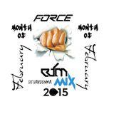 FORCE EDM MIX MONTH OF FEBRUARY 2015