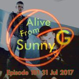 Alive From Sunny G Episode 101 31 Jul 2017 with Jay-Lee & JMG