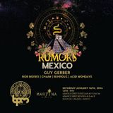 Guy Gerber - live at RUMORS Showcase Martina Beach (The BPM 2016 Mexico) - 16 jan 2016