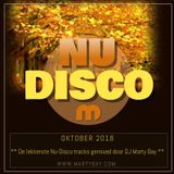 (Mix) DJ Marty Bay - Nu Disco Oktober 2018