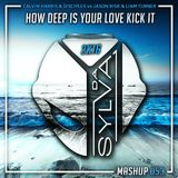 Calvin Harris x Disciples Vs Jason Risk x L Turner - How Deep Is Your Love Kick It (Da Sylva Mashup)