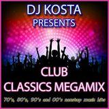 DJ Kosta - Club Classics Megamix (Section 2017)