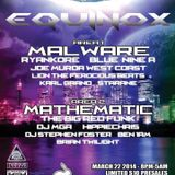 Malware w/ MC Precision - Live @ Equinox LA 2014 Presented by B. Entertained & White Rabbit