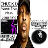 "CHUCK D promotes CEE-ROCK ""THE FURY"" on Rapstation's 'Songs That Mean Something' segment."