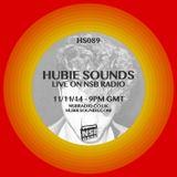 Hubie Sounds 089 - 11th Nov 2014