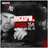 BACKSPIN FM # 354 - 12Finger Mix Vol. 45