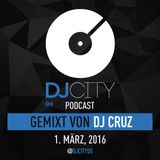DJ Cruz - DJcity DE Podcast - 01/03/16