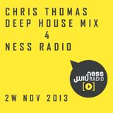 Chris Thomas Mix 4 Ness Radio 2nd week 'November 2013'