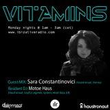 Ibizaliveradio - Vitamins ep 88 Sara Constantinovici