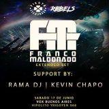 Kevin Chapo Dj Set at VOX Buenos Aires - Closing Set at night of Franco Maldonado Extended Set