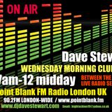 Dave Stewart 16/11/2016 'BETWEEN THE SHEETS' RADIO SESSIONS POINT BLANK FM LONDON UK