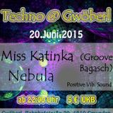 Miss Katinka b2b Nebula @ Positive Vibrations - The Hard Dance Acid Part - 20/06/2015
