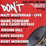 Matt Whitehead (Live PA) @ Don't - Bar 512 London - 08.10.2016