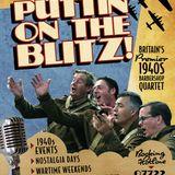 1940s barbershop quartet Puttin' on the Blitz join Harry & Edna on the Wireless