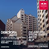 Diskotopia Radio 2nd June 2016 w/ RLP & Akito