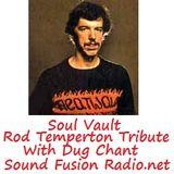 Soul Vault 12/10/16 Rod Temperton Tribute broadcast  on Sound Fusion Radio.net with Dug Chant