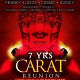 Franky Kloeck @ 7 Years Carat Reunion @ La Rocca