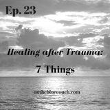 23: Healing After Trauma: 7 Things