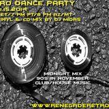 Retro Dance Party 11.15.2014 LIVE on Renegade Retro <renegaderetro.com>
