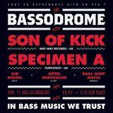 Bassodrome 1.5 : Bonus Level Promo Mix (Specimen A vs Son Of Kick) / Mixed by Don Germano