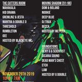 Mahakala - DJ Set @ Rupture 13th Birthday 29th November 2019 w MC Blackeye