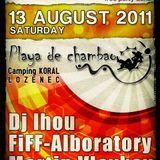 Ihou Live @ Playa De Chambao 13August 2011 (NoWorkTeam)