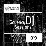 3quency DJ Sessions - 019 MJOS Live 1hr Techno Mix 10-10-19 melodic techno