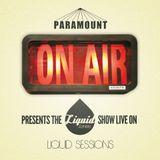 [#001] LIQUID TONES SHOW HOSTED BY PARAMOUNT [LIQUID SESSIONS RADIO]