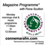Connemara Community Radio - 'Magazine Programme' with Fiona Scullion - 9sept2019