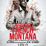 French Montana @ YOLO, Athens 19/02/15