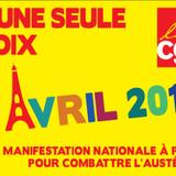 La Midinale de Sébastien Brossard - Journée nationale d'action unitaire interpro du 9 avril