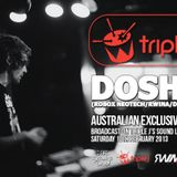 Doshy@ Trible J's Soundlab Australia FM (FEB2013)
