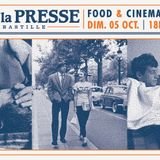 Food & Cinema #1 by ATN @ Café de La Presse (05-10-14)