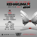ItaloJohnson  - Live At Kehakuma & Elrow, Space (Ibiza) - 21-Jun-2014