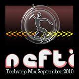 Nefti - Techstep Mix September 2010