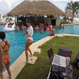 Poolside Hiphop & Moombahton, Live from Cancun Mexico