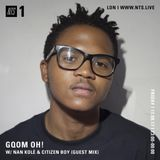 Gqom Oh! w/ Nan Kole & Citizen Boy - 11th August 2017