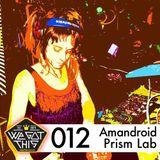 Split Mix For the WeGotThisCrew Mixtape Series - First half Amandroid, Second half Prism Lab