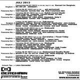 Paula Temple @ Klubnacht - Berghain Berlin - 13.07.2013