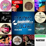 DEEPINSIDE RADIO SHOW 097 (Connie Harvey Artist of the week)