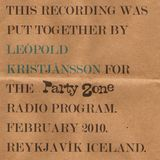 Partyzone Radio Show - February 2010
