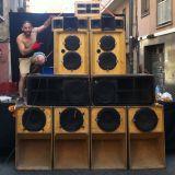 DANCE CRASHER Sound feat. Nytto Dread, Ras Maxx & Roaring Lion, Broda Nelson & U-Rie  @ Sants 27-08-