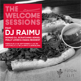 DJ Raimu @ The Welcome Sessions Futon Llit 21/09/2016