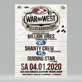 War In The West - Guiding Star v Million Vibes v Shanty Crew Dusseldorf Germany 4.1.2020
