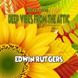 Deep Vibes from the Attic Edwin Rutgers 08-11-2016
