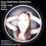 Deep Highlights Radioshow Vol.19 mixed by  Nadja Lind