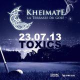 Toxics live @Kheimate La Terrasse Du Golf. 23.07.2013