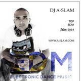 Top EDM Nov 2014 - DJ A-SLAM ( #WorkOutMusic )